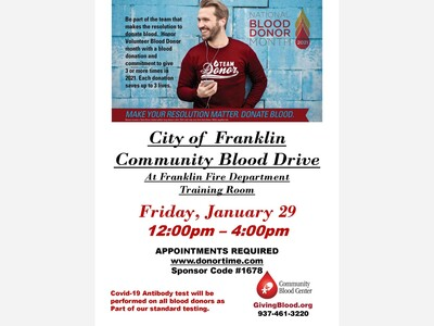 City Of Franklin Community Blood Drive