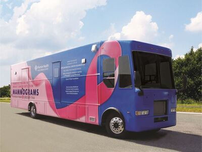 Mobile Mammography Coach Will Make Local Stops