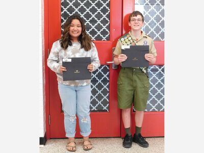 Franklin Board Of Education Honors Students